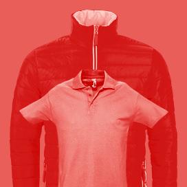 Vêtements professionnels publicitaires