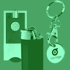 Porte-clés personnalisés métal