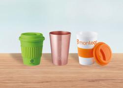 Des gobelets publicitaires réutilisables pour freiner le plastique !