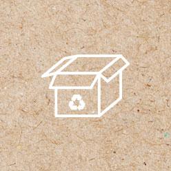 Objets publicitaires en carton et carton recyclé